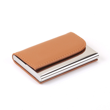 ISO9001 Manufacturer More 15 Years Experience Do Aluminum And Leather Card Wallet