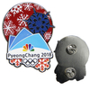 BSCI Manufacturer More 15 Years Experience for Custom Metal hard enamel Olympic Games pin Badge