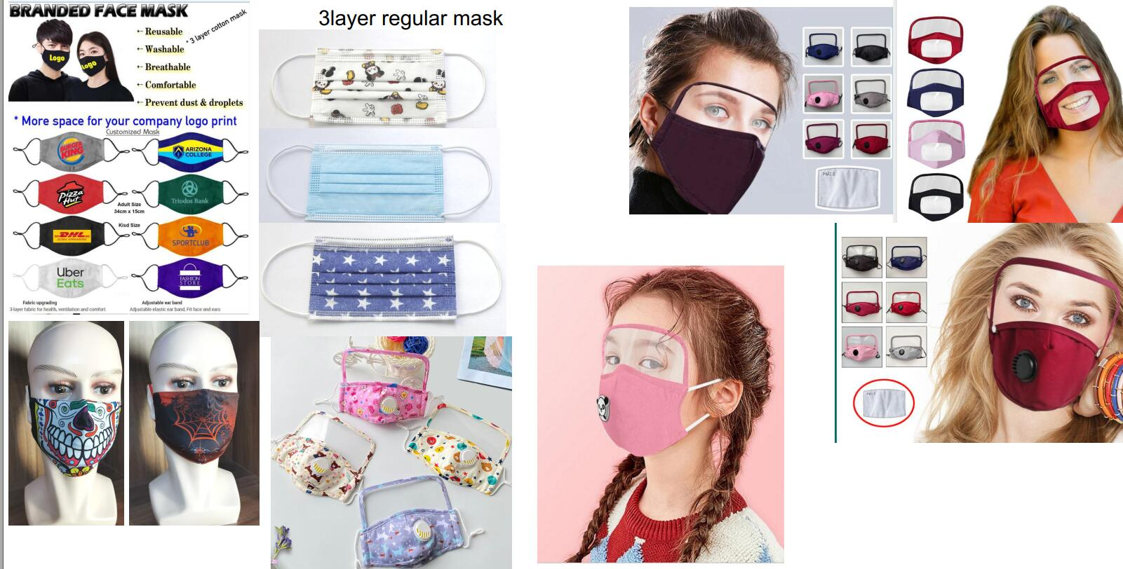 News products for mask and face sheld