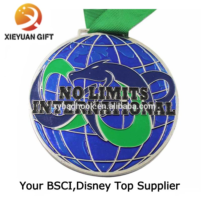 China Factory Sales Custom High quality Medal with Ribboon