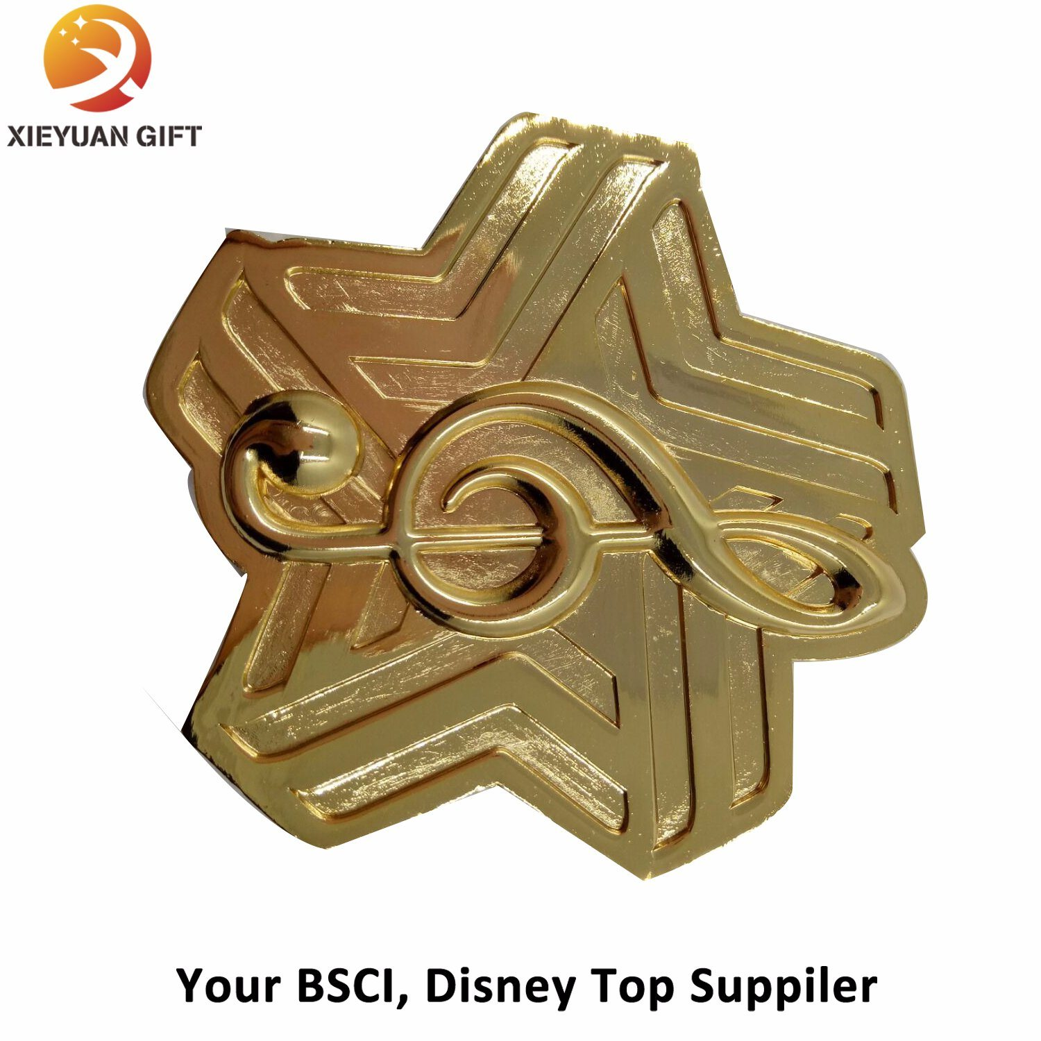 2017 New Products Star Shape Custom Metal Medal (XY-mxl9407)