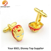 Customize Copper Gold Plating Cufflink for Gifts