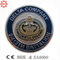 Free Sampl Zinc Alloy 3D Metal Coin with Badge Police Logo