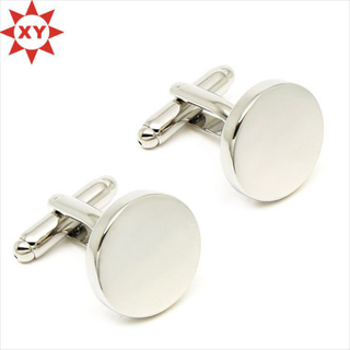 Factory Directly Sell High Quality Plain Cufflinks for Sale