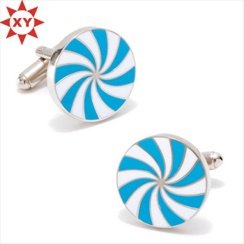 Durability Top Quality Initial Cufflinks for Birthday Gifts
