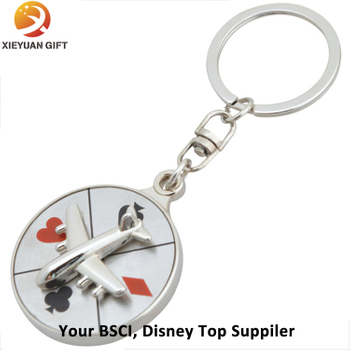 Plane Shape Keychain Minion 3D with Keyring 2015
