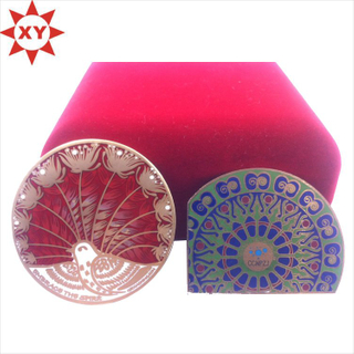 Souvenir Gift High Quality Customized Hard Enamel Chanllenge Coin