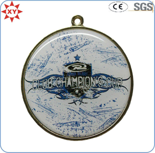Custom Sports Epoxy Print Logo Engraving Medals
