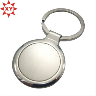 Round Shape Keyholder Stainless Steel with Key Ring (XY-mxl91004)