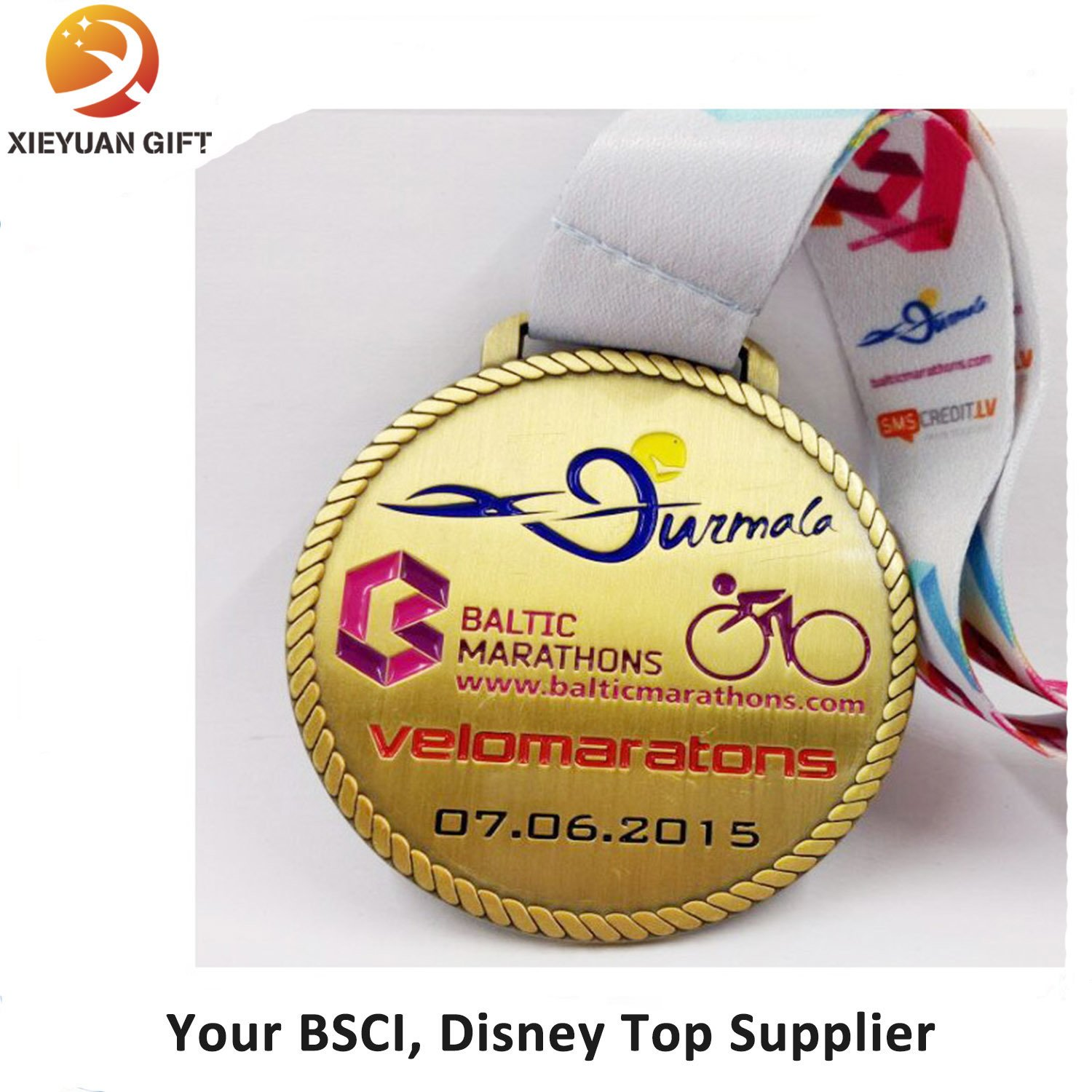 High Quality Manufacture of Medals with SGS