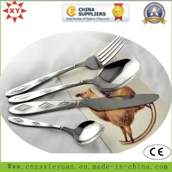 Eco-Firendly Stainless Steel Fork and Coffee Spoon