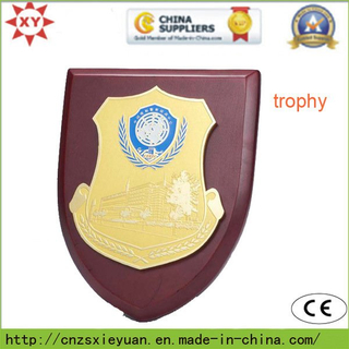 Custom Metal and Wooden Trophy for Souvenir