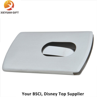 Durable & Slim Design Business Card Holder Stainless Steel Case Simple and Generous Business Card Case
