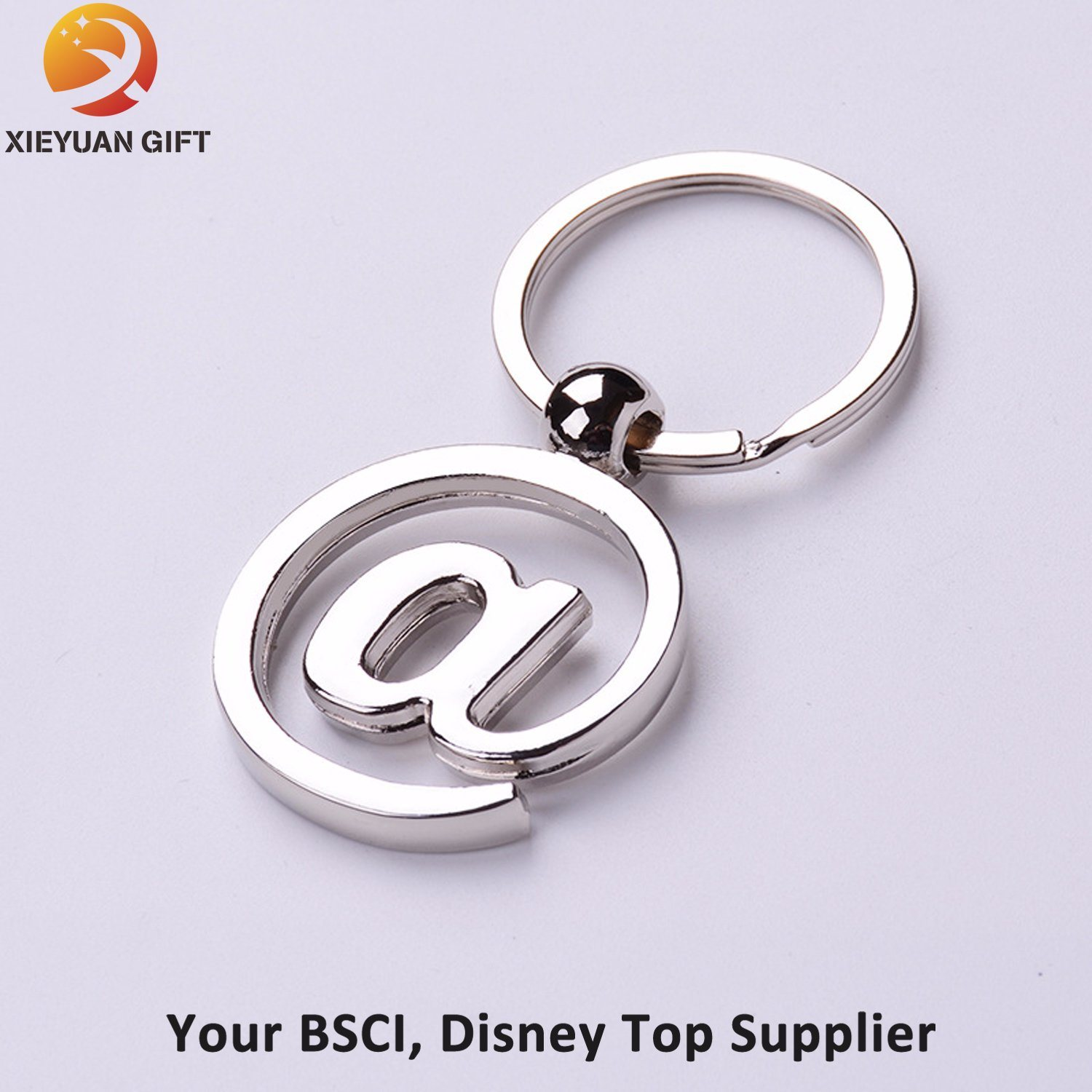 Cheap Custom Number Metal Keychain