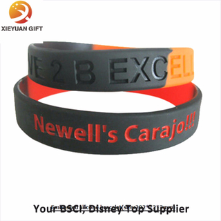 Factory Manufacturing Silicone Wristbands/Bracelets