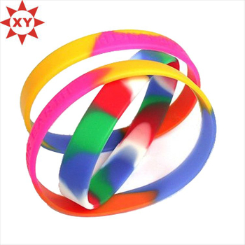 Factory Directly Supply Custom Silicone Wristbands No Minimum
