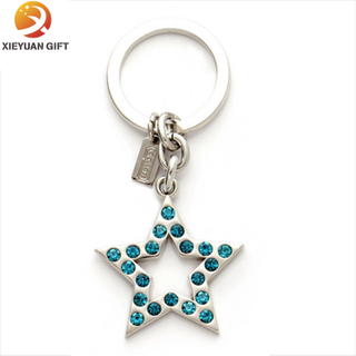 Top Quality Octagon Crystal Key Chain for Sale