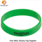 Green Silicon Wristband for Adults with Written