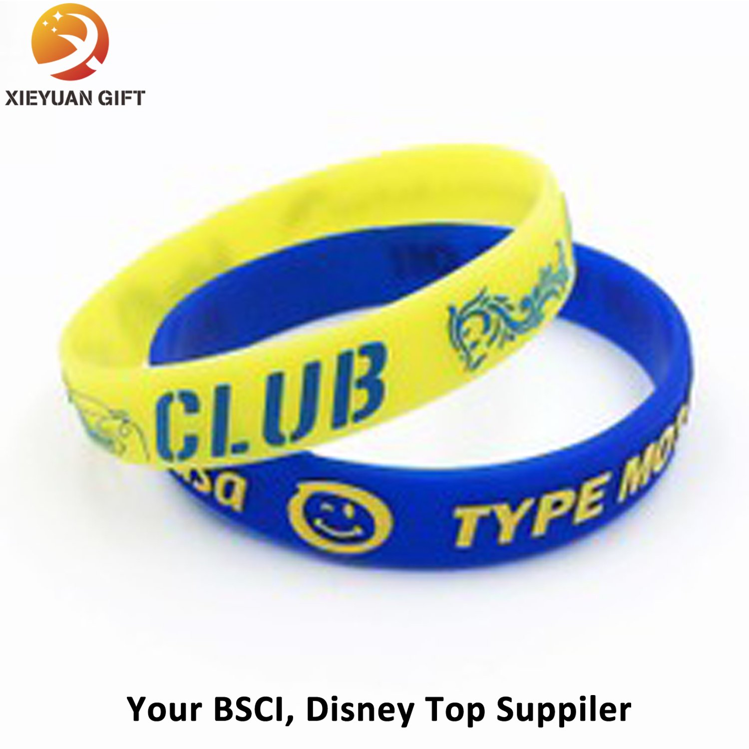 wholesale Solid Stripes Silicone Wristbands