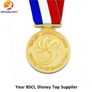 China Supplier Promotional Cheap Gold Award Medals