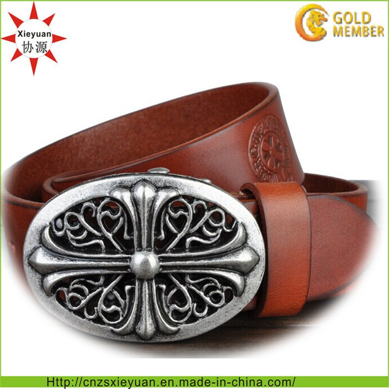 Custom Leather Belt Buckle