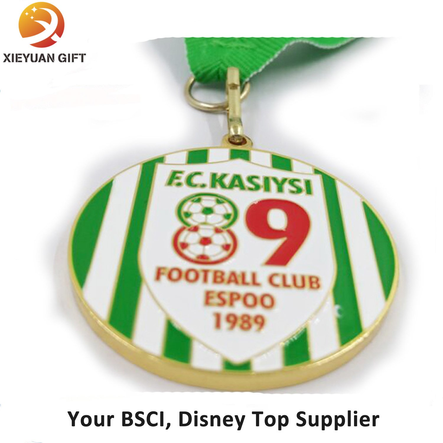 Custom Soccer Medals No Minimum Order