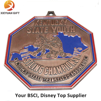 Wholesale 3D Custom Metal Trophies and Medals China