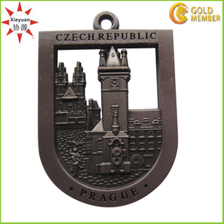 Custom Cheap Creative Award Medals with Antique Brass