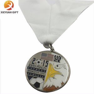 High Quality Epoxy Religion Medals with Ribbon (XY-mxl9405)