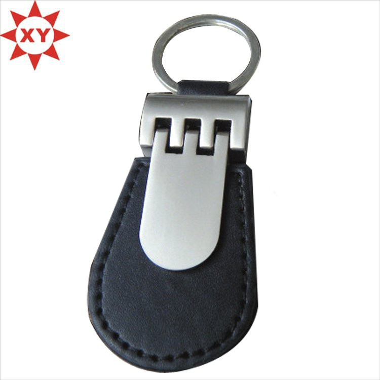 Factory Directly Sell High Quality Leather Keychain