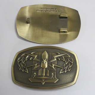 USA Metal Buckle Bronze