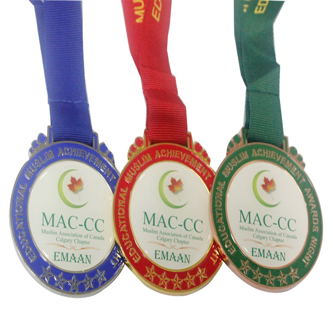 Metal Medal Color Filled