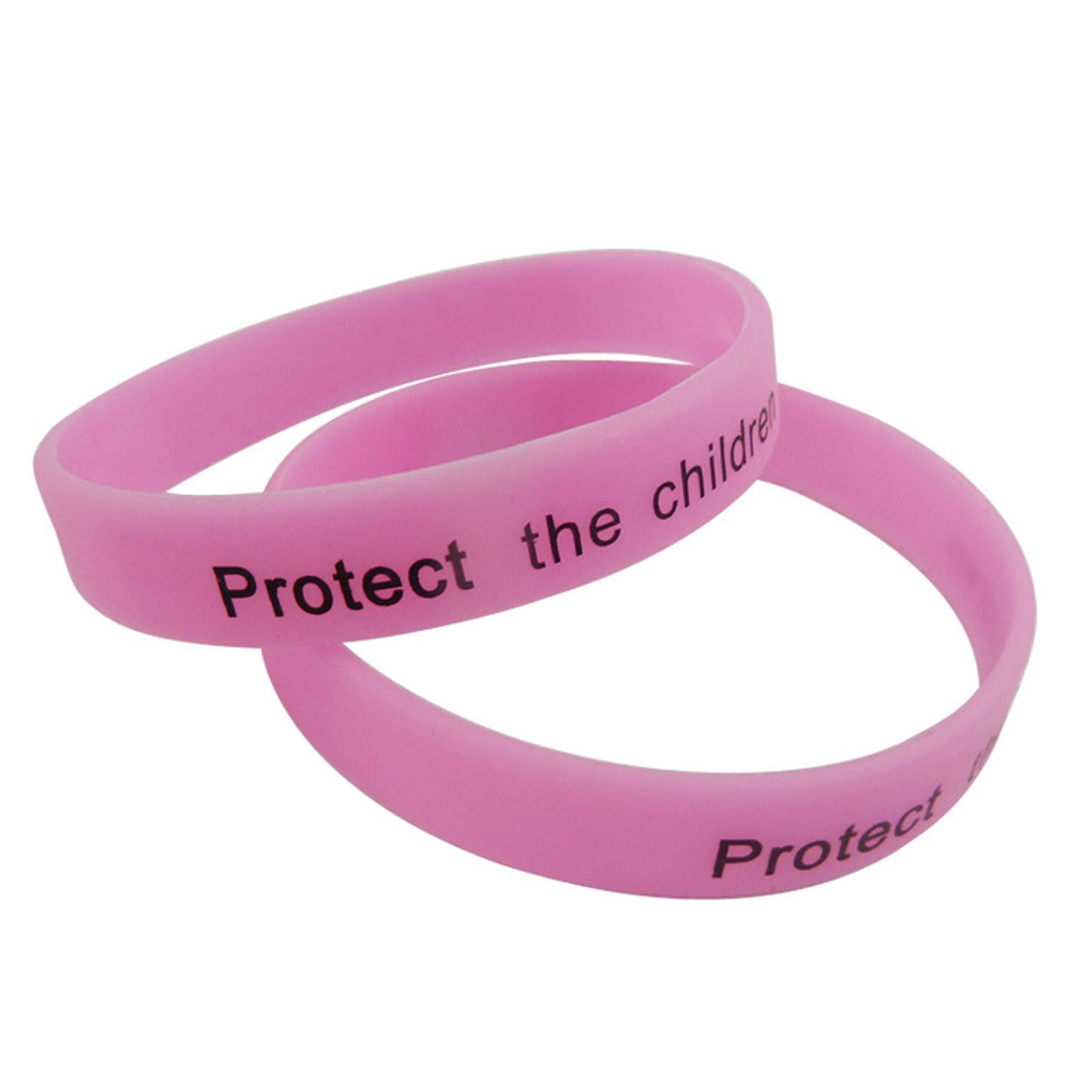 Cheap Plain Silicone Wristbands with Printing