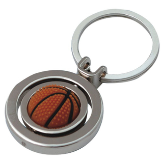 Promotional Items Rotatable Ball Keychain