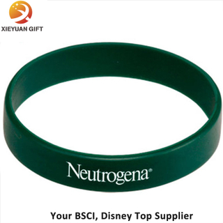 Dark Green Silicon Wristband Size for Adults