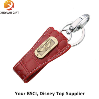 Fashion Rubber Custom PU Keychain