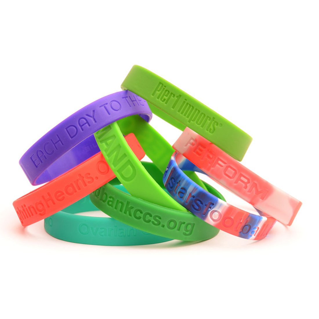 Wristband with Silicone