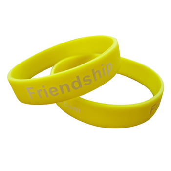 Deboosed Wristband Silicon
