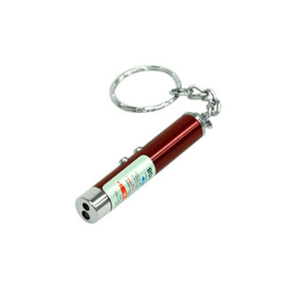 Mini Metal Torch Flashlight Leychain for Souvenir and Promotion Gifts