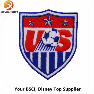 Custom Soccer Sport Embroidery Badge Article with Logo