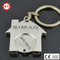 Made in China House Shape Token Coin Keychain
