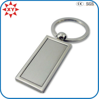 Free Mold Promotional Blank Stainless Key Chain