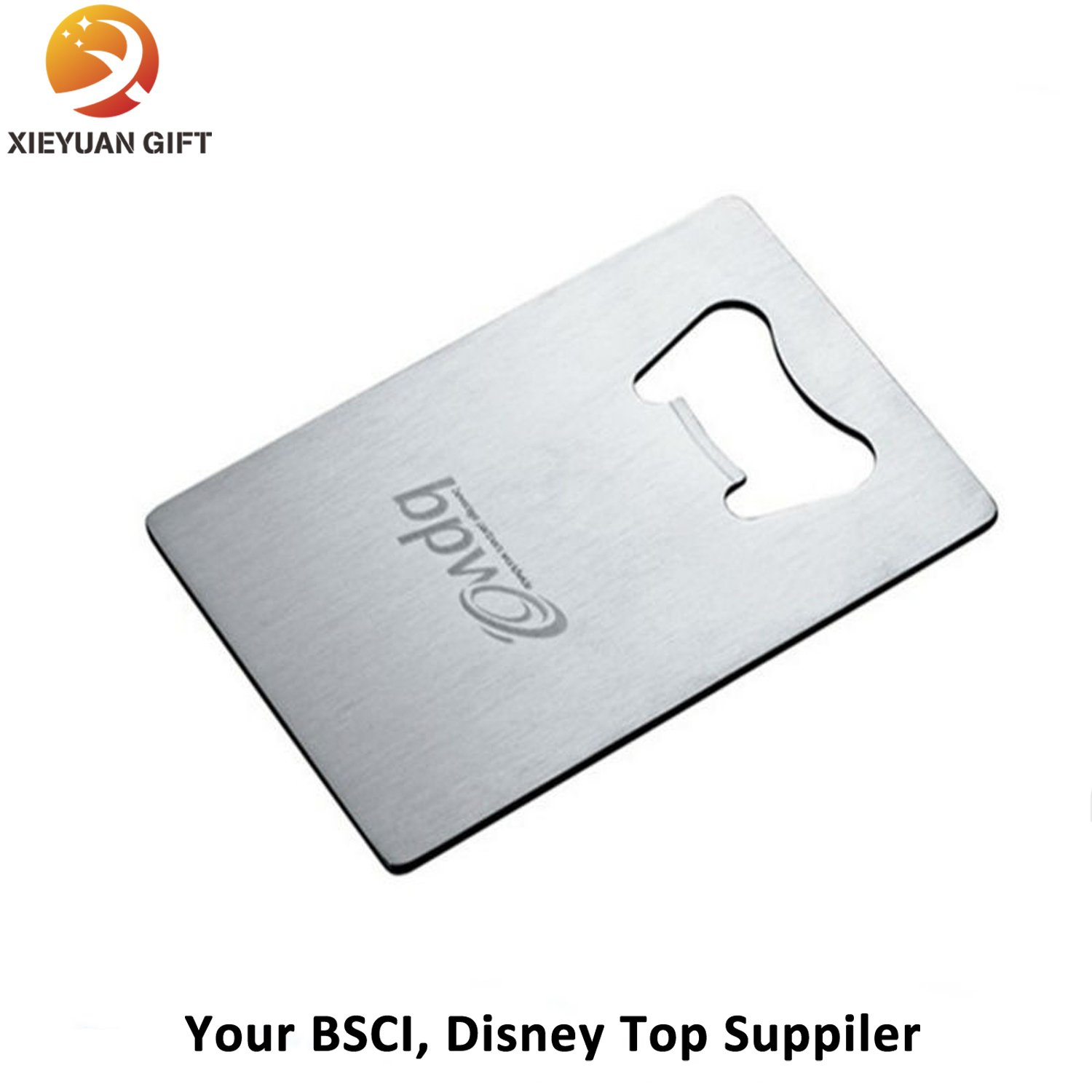 100% Assurance Business Cards Stainless Steel Bottle Opener