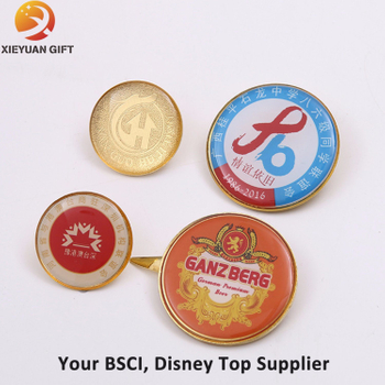 Custom Copper Badge Holder in China Factory