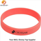 Red Color Printing Silicone Cheap Event Wristbands