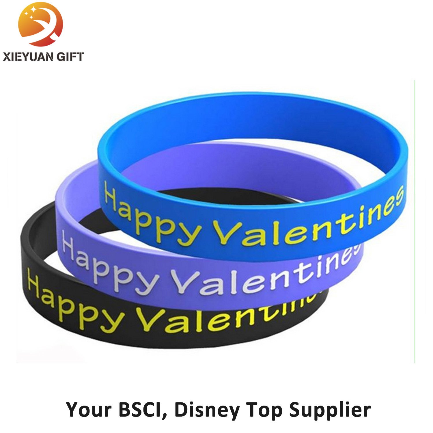 Couple Gifts Silicone Bracelet for Couple