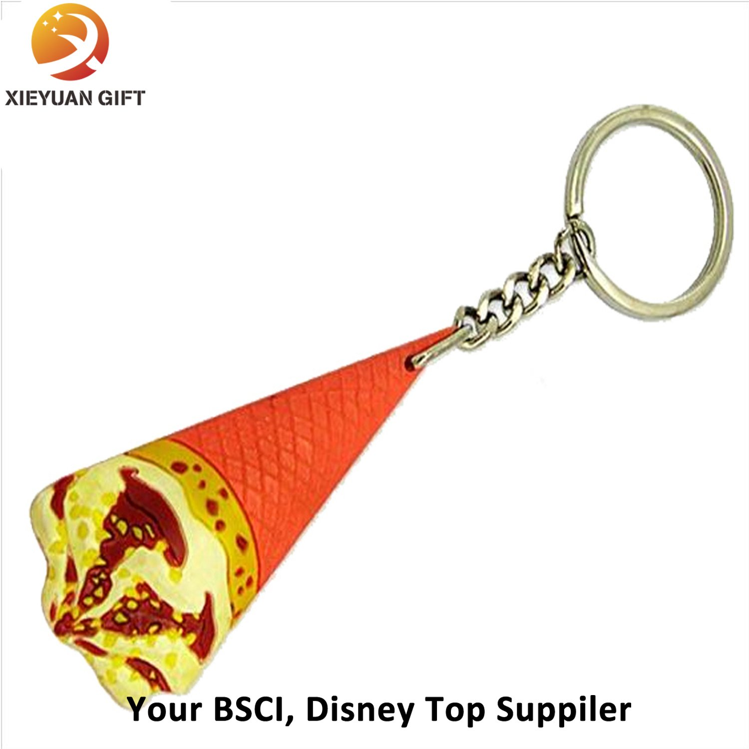 China Manufacturer Custom Key Ring PVC for Gifts (XY-MXL72805)