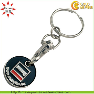 Promotional Supermarket Coin Keyring