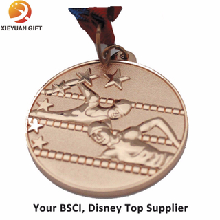 Cheap Marathon Metal Medal with Gold