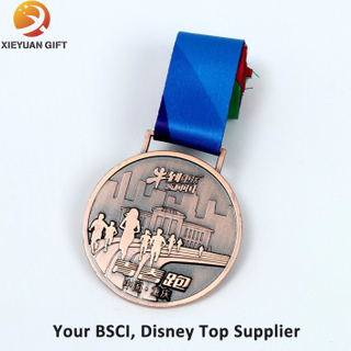Zinc Alloy Casting Medal with Antique Copper Wholesale in China